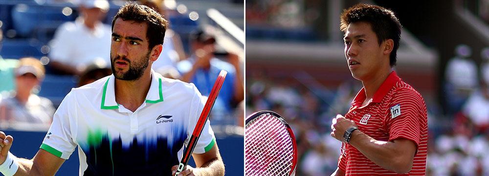 Нисикори Чилич в финале US Open