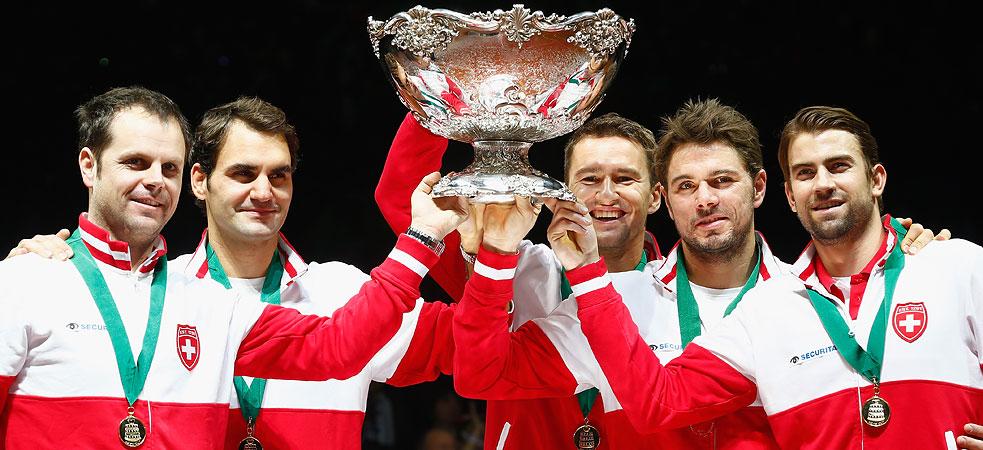 Швейцария - обладатель Кубка Дэвиса 2014 года